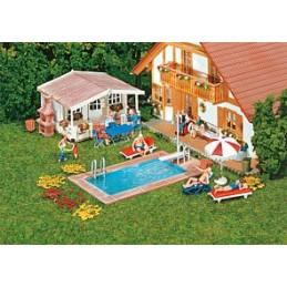 Faller 180542 : Zwembad en...