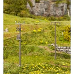 Faller 180928 : Power poles