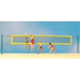 Preiser 10528 : Beach Volley