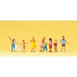 Preiser 10530 : Playing kids