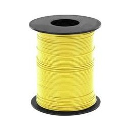 Wire yellow 100m