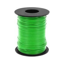 Wire green 100m