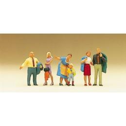 Preiser 10279 : Familie...