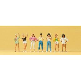 Preiser 10258 : Jonge meisjes