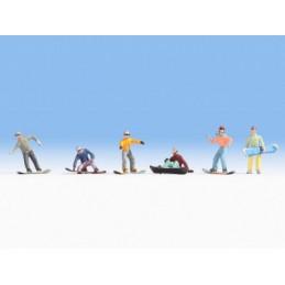 Noch 15826 : Snowboarders