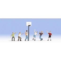 Noch 15882 : Basketbalspelers