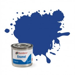 Humbrol 025 : Blue Matt