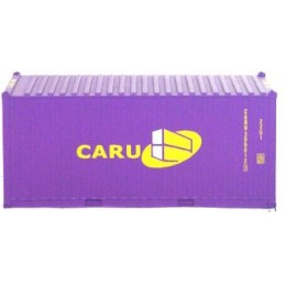 B-models container 20ft : CARU
