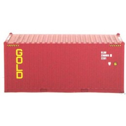B-models container 20ft : GOLD