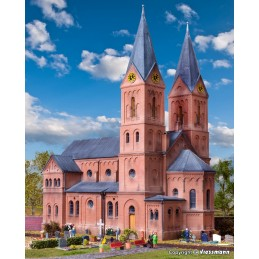 Kibri 39760 : Romaanse kerk...
