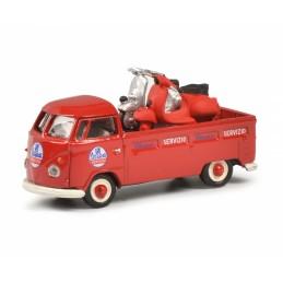 Schuco 452650400 : VW + Vespa