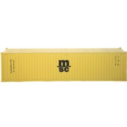 B-models container 40ft : MSC
