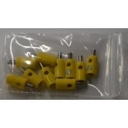Marklin 7132 : Stekker geel