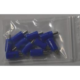 Marklin 7130 : Stekker blauw
