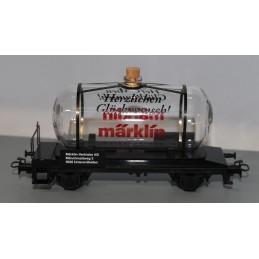 Marklin glas tankcar...