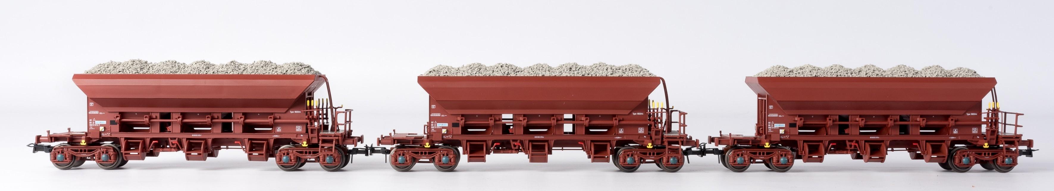 Ballast wagons - Tremie